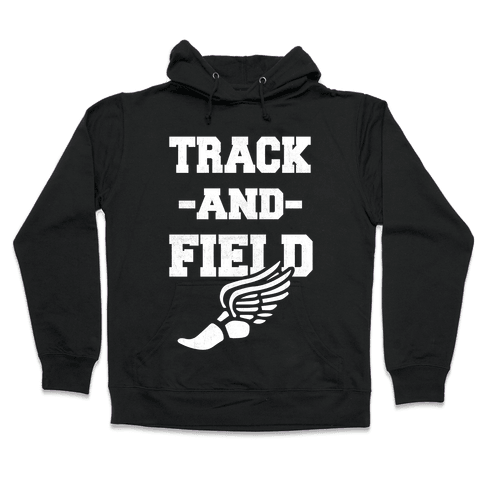 Track And Field Hooded Sweatshirt