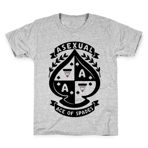 Asexual Crest Kids T-Shirt