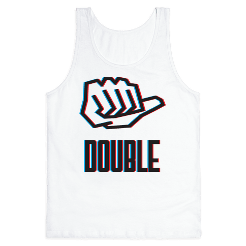 Double Trouble 1 Tank Top