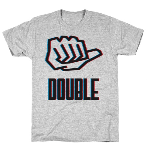 Double Trouble 1 Mens T-Shirt