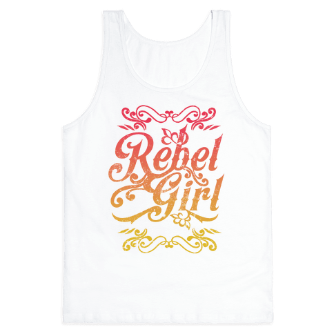 Rebel Girl Tank Top