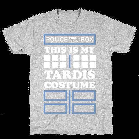 This Is My Tardis Costume Mens T-Shirt