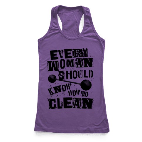 Every Woman Should Know How To Iron Racerback Tank Top