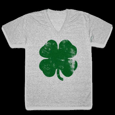 Irish V-Neck Tee Shirt