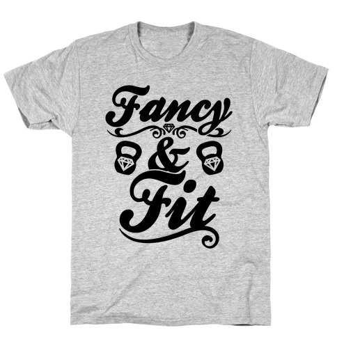 Fancy And Fit Mens/Unisex T-Shirt