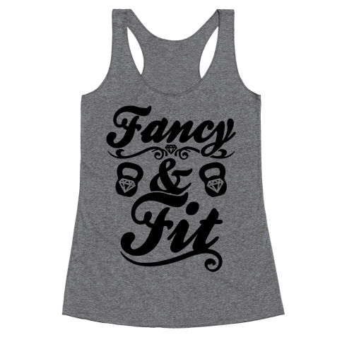 Fancy And Fit Racerback Tank Top
