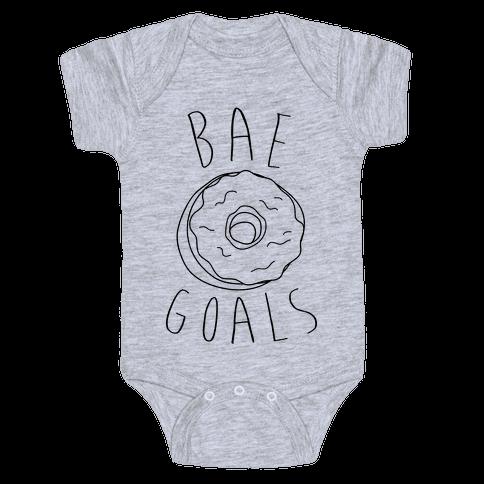 Bae Goals Baby Onesy