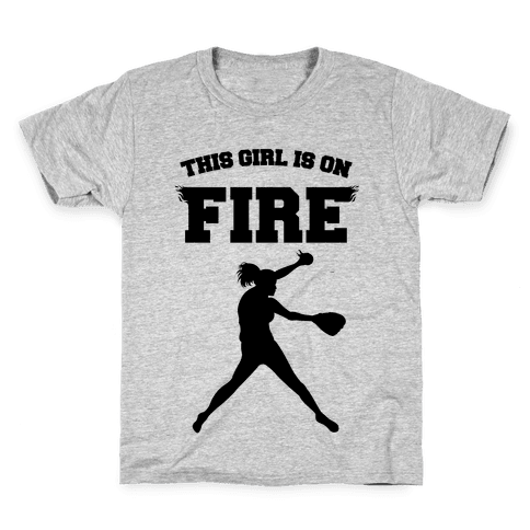 This Girl Is On Fire Kids T-Shirt
