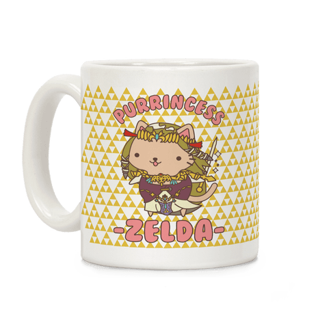 Purrincess Zelda Coffee Mug
