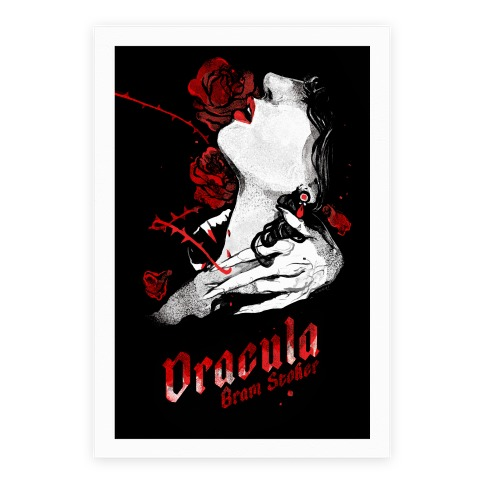 Dracula Book Cover Poster
