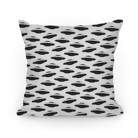 UFO Pattern Pillow