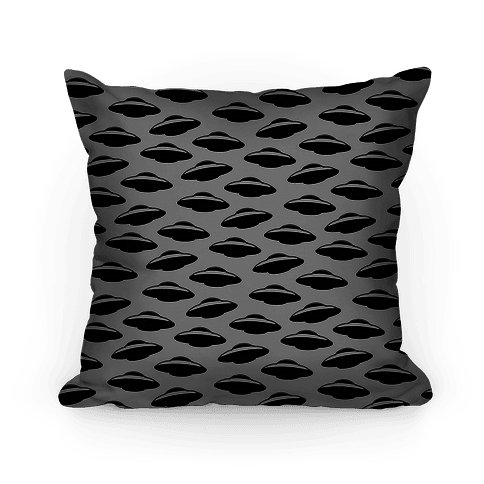 UFO Pattern Pillow