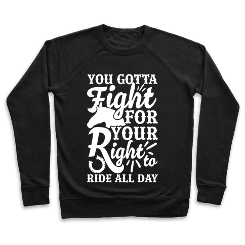 You Gotta Fight For Your Right To Ride All Day