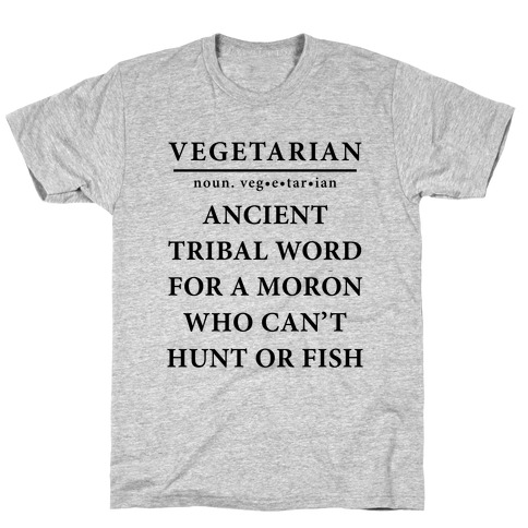 Vegetarian Definition T-Shirt