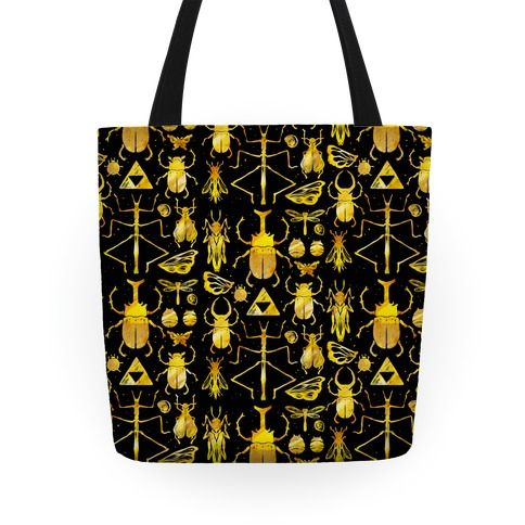 Golden Bug Collector Tote Tote