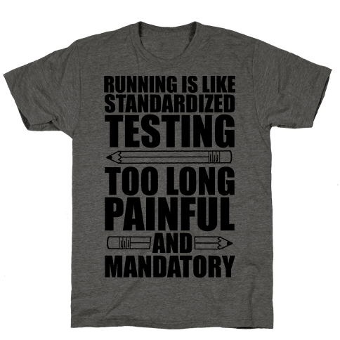 Running is like Testing
