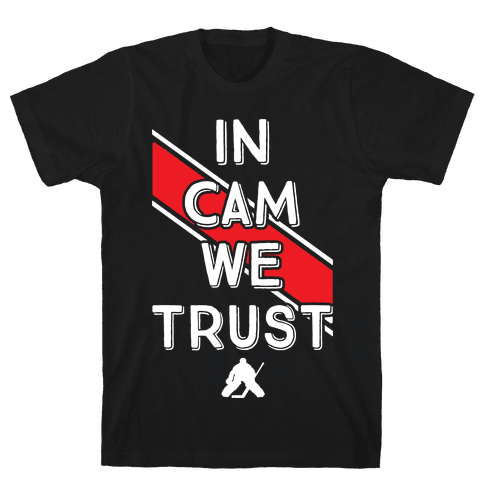 In Cam We Trust Mens T-Shirt