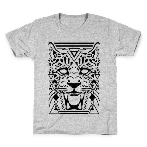 Egyptian Leopard Kids T-Shirt
