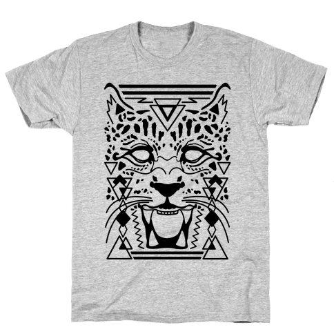 Egyptian Leopard Mens T-Shirt