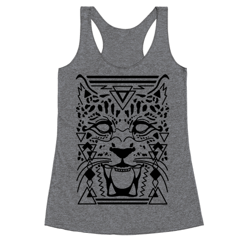 Egyptian Leopard Racerback Tank Top