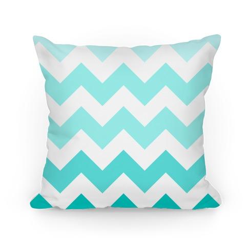 Chevron Pillow (Diamond Blue) Pillow