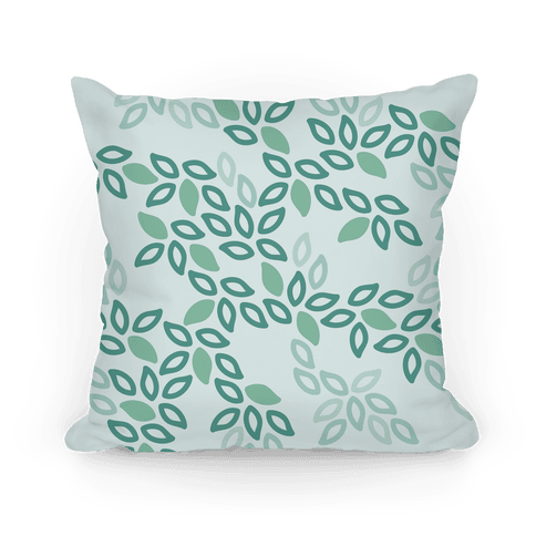 Fun Leaf Pattern Pillow Pillow