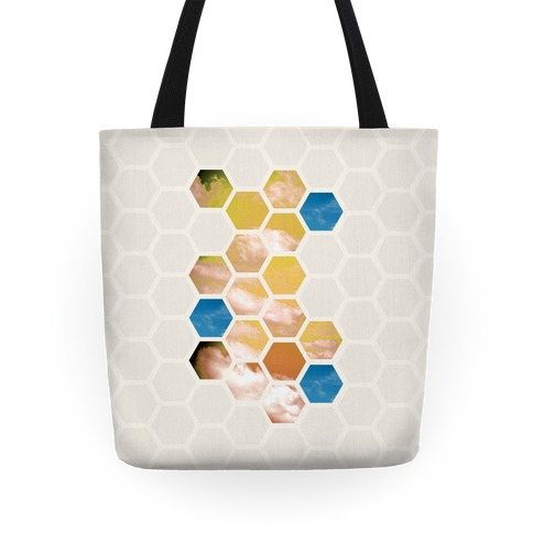 Cloud Collage Tote