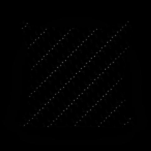 Black Diagonal Arrow Pattern