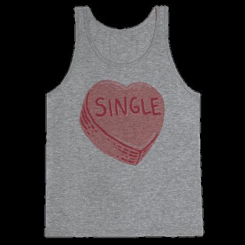 Single Conversation Heart Tank Top