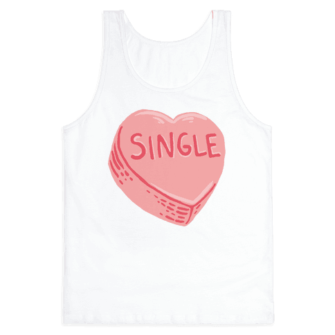 Single Conversation Heart Tank Top