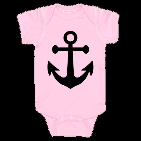 Anchor Baby Onesy