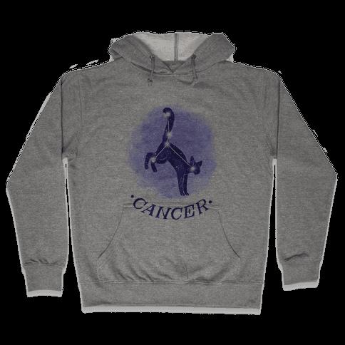 Cat Zodiac: Cancer Hooded Sweatshirt