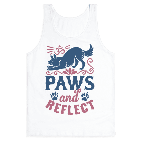Paws And Reflect (Dog) Tank Top