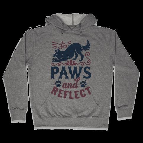 Paws And Reflect (Dog) Hooded Sweatshirt