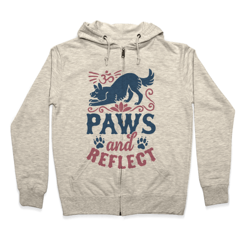 Paws And Reflect (Dog) Zip Hoodie