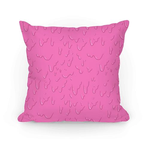 Pink Slime Pillow Pillow