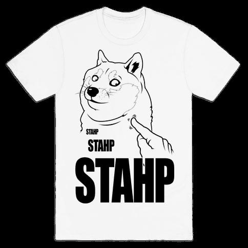 Doge Stahp Mens T-Shirt