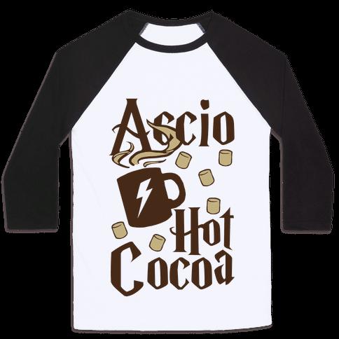 Accio Hot Cocoa Baseball Tee