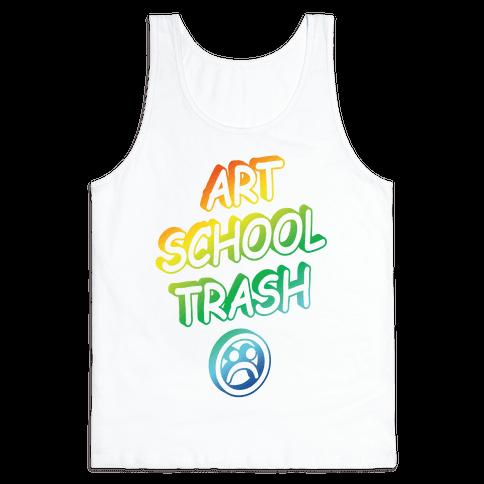 Art School Trash Tank Top