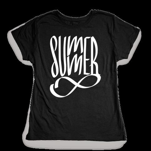 Summer Forever Womens T-Shirt