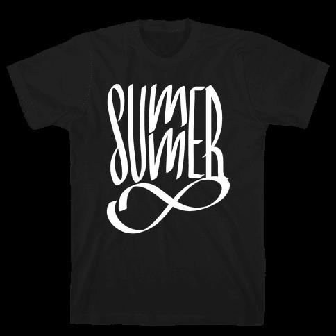 Summer Forever Mens T-Shirt