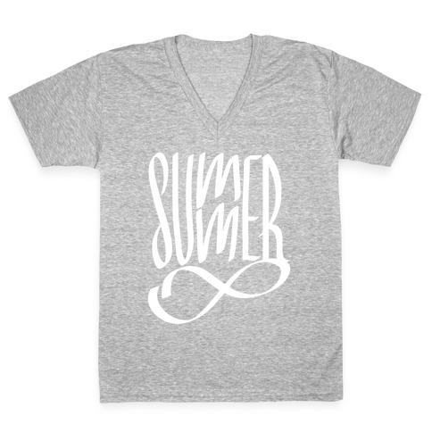 Summer Forever V-Neck Tee Shirt