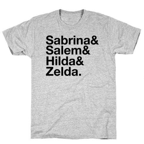 Sabrina List Mens T-Shirt