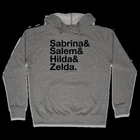 Sabrina List Hooded Sweatshirt