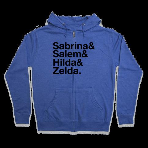 Sabrina List Zip Hoodie