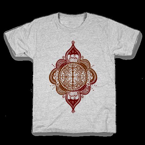 Rangoli Inspiration Pattern Kids T-Shirt