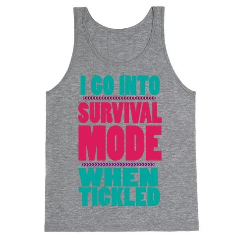 Tickle Survival Mode Tank Top