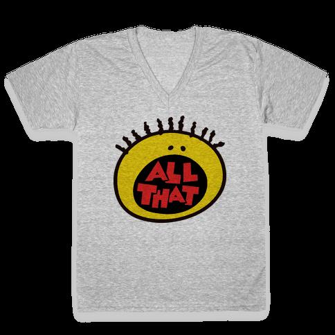All That V-Neck Tee Shirt