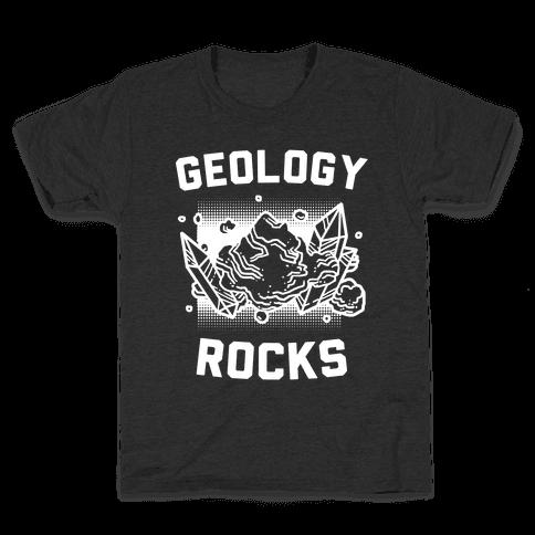 Geology Rocks Kids T-Shirt