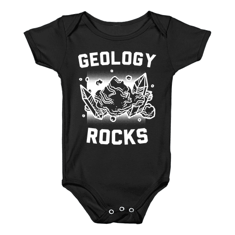 Geology Rocks Baby Onesy